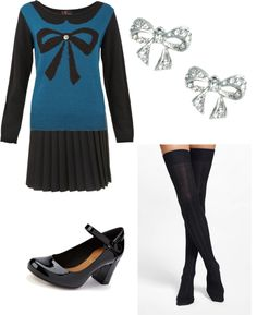 """""""Bow All Out"""" by sondra-barker on Polyvore"""