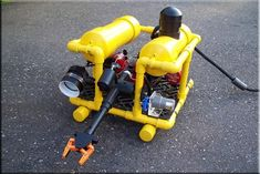 Instructables: Build your own ROV and drive it around a pool, a lake, off a boat dock... The fun will never, ever end