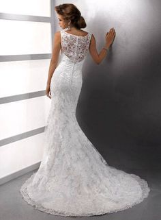 Beautiful wedding gown lace down for that perfect day to feel beautiful ❤️