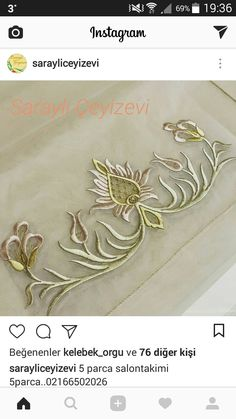 Gold Embroidery, Embroidery Stitches, Embroidery Patterns, Machine Embroidery, Brazilian Embroidery, Gold Work, Embroidered Flowers, Wire Jewelry, Color Mixing