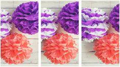 Bohókás farsangi dekor: pomponok papírból - Mom With Five Mom, Creative, Mothers