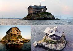 Henry Wood Stands On A Rock In Rhode Island 39 S Narragansett Bay