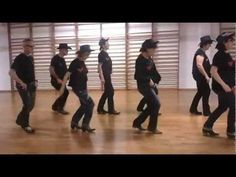 2012 12 18 Footloose Line Dance