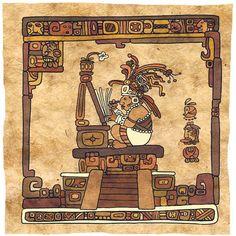 The Road to El Dorado concept art by Kristen. Aztec Pictures, Arte Haida, Inca Art, Mayan Glyphs, Aztec Culture, Aztec Warrior, Aztec Art, Mesoamerican, Indigenous Art