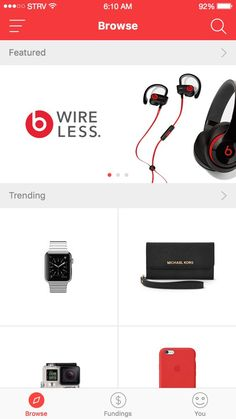 Ecommerce App - Browse Products: