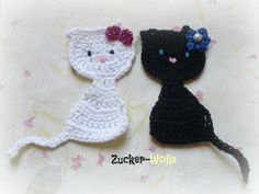This Pin was discovered by Zoy Crochet Applique Patterns Free, Baby Applique, Knitting Patterns, Cute Crochet, Crochet Yarn, Crochet Bunny, Crochet Embellishments, Crochet Mobile, Crochet Bookmarks