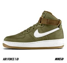 NIKEiD Air Force 1 iD – 10th Mountain Division Design Options | Available on May 1st
