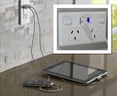 Power sockets now definitely need a USB port for charging our numerous gadgets