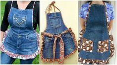On peut transformer les vieux jeans en beaucoup de choses, mais beaucoup d'entre nous n'ont jamais pensé qu'on pourrait fabriquer des beaux tabliers avec. Vous pouvez faire la décoration de votre goût, avec ces...