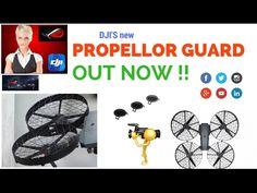 DJI MAVIC PR0. NEW PROPELLER GUARD & MAVIC PRO 2..
