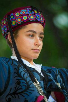 Traditional Turkish Clothing Type From Aydın City