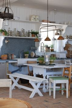 Is it a kitchen or a shed? Never mind, it's great!!