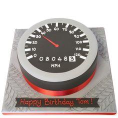 Speedometer Cake | Birthday Cakes | The Cake Store