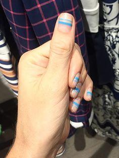 New York Fashion Week Diary: The nail look at Tanya Taylor Spring 2016 Minimalist Nails, New York Fashion, Kylie Jenner Nails, Manicure E Pedicure, Pedicure Ideas, Heart Nails, Stylish Nails, Nail Decorations, Beautiful Nail Art