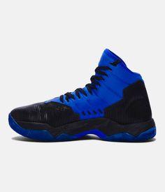 buy popular b5dc0 70a92 Boys  Grade School UA Curry 2.5 Basketball Shoes, Black , zoomed image  Adidas Men