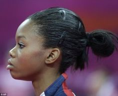 Ponytail (Picture Video)A Poem For Gabby Douglas : By Jasmine Waiters Horse Smiling, Game Day Hair, Athletic Hairstyles, Gabby Douglas, Family Events, Professional Hairstyles, S Girls, Our Girl, Female Bodies
