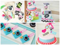 Cute Instagram Birthday Party Theme:  Favor Couture: http://instagram.com/favorcouturetheaspenshops | via Tumblr