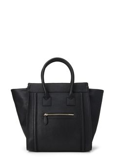 Zippered Faux Leather Satchel | FOREVER21 - 1000137541