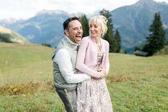 Hochzeit im Dirndl hoch in den Bergen Bergen, Couple Photos, Couples, Couple Shots, Couple Photography, Couple, Couple Pictures, Mountains