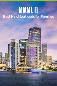 Moving to Miami? Check out these five Miami neighborhoods for families that have great schools, kid-friendly activities and restaurants, and affordable housing! Moving To Miami, Miami Life, Florida City, Life Transitions, Downtown Miami, Florida Living, University Of Miami, Travel Design, West Palm Beach