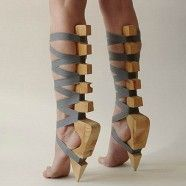 I mean, I have nothing against high heels but... Oh never mind. I do - especially these ones.