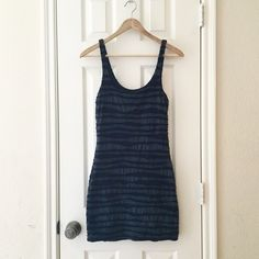 Free People blue bodycon dress Size small Free People blue dress. Free People Dresses