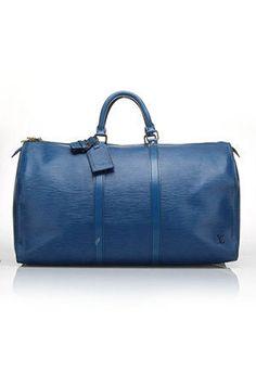 Louis Vuitton Keepall ~ Blue