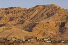 El-Gourna village