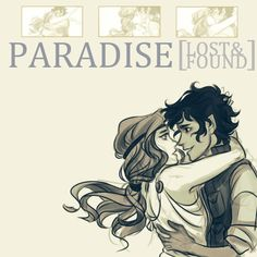 machiaveski:  Paradise (LostFound)A Fanmix for Leo Valdez and Calypso from Heroes of Olympus. Art by viria.  Tracks,
