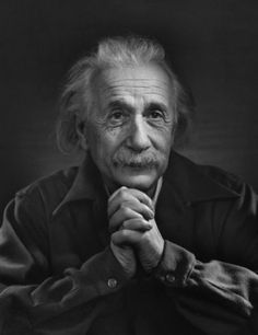 Albert Einstein photographed by Yousuf Karsh