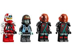 LEGO Ninjago has always been one of my favourite themes as the sets always have innovative play features along with introducing a lot of new elements. Lego Kai, Lego Ninjago Ninja, Lego Toys, Lego Lego, Lego Custom Minifigures, Arte Ninja, Lego Craft, Cool Lego Creations, Lego Design