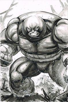 Juggernaut by Freddie E. Williams II *