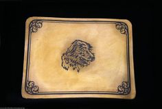 Mousepad aus echtem Leder, der Hingucker, 24,95 €