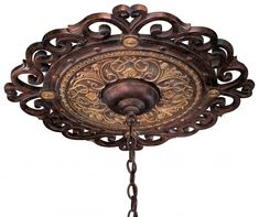 Metropolitan Accessories fixture Model Metropolitan Ceiling Medallion in Golden Bronze finish with None. Traditional from the Bronze Tones finishes group in Bronze. Ceiling Medallions category from the Zaragoza family. Metropolitan Lighting, World Decor, Tuscan House, Tuscan Decorating, Decorating Ideas, Traditional Decorating, Decor Ideas, Mediterranean Home Decor, Ceiling Decor