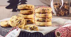 Csokis végű darálós keksz - sütnijó! – Kipróbált sütemény receptek Shortbread Cookies, Cake Cookies, Panna Cotta, Muffin, Cupcake, Goodies, Food And Drink, Ice Cream, Sweets