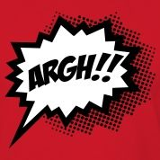 SPEECH BUBBLE SUPERHERO | Comic ARGH!, Super Hero, Cartoon, Speech Bubble T-shirts