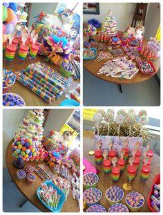 rainbow unicorn party