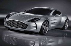 Aston Martin One-77 Supercar with the #goldencut - awesome Design made by #Aston #Martin 2008