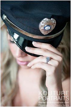 Glamour, Boudoir, Props, Cop © www.koutureportraits.com