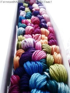 colors, embroidery floss
