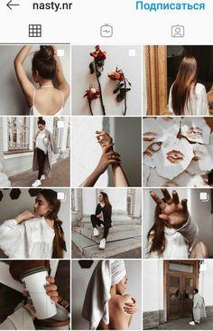 Pin on Shoot-shoot song) Best Instagram Feeds, Instagram Feed Ideas Posts, Mode Instagram, Instagram Feed Layout, Instagram Design, Instagram Aesthetic Ideas, Ig Feed Ideas, Kreative Portraits, Insta Photo Ideas