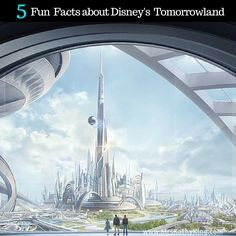 Here's  5 Fun Facts about Disney's Tomorrowland!
