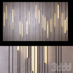 models: Other decorative objects - Decorative panel _ Feature Wall Design, Wall Panel Design, Decorative Panels, Decorative Objects, Wall Cladding, Facade Design, Wall Patterns, Wall Treatments, Interior Walls