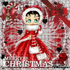 TO YOU ALL...MERRY CHRISTMAS..BETTY BOOP
