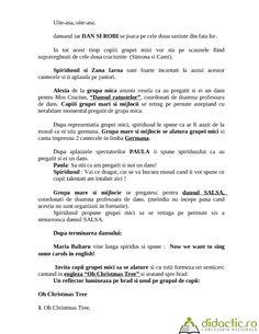 scenariu serbare craciun (de nota 10!) | alexutza_81 | 14.12.2007 Education, Poster, Onderwijs, Learning, Billboard