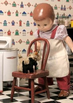 cooking - Patsy Ann - Effanbee Doll