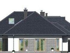 DOM.PL™ - Projekt domu DPS Nebraska CE - DOM DPS1-29 - gotowy koszt budowy Nebraska, House Design, Outdoor Decor, Home Decor, Farmhouse, Projects, Decoration Home, Room Decor, Architecture Design
