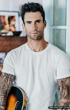 Adam Levine, holy hotness