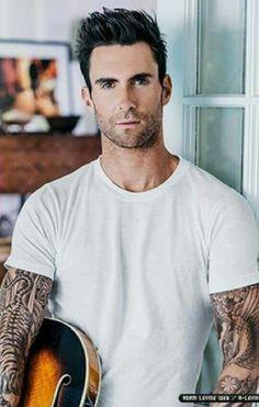 Adam Levine, holy hotness