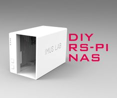 VISIT FOR MORE Why a Raspberry Pi NASWell, I have been searching for a beautiful yet space saving Raspberry Pi NAS from the internet and I found nothing. I did find some NAS design… Computer Projects, Robotics Projects, Impression 3d, Diy Electronics, Electronics Projects, Arduino, It Wissen, Projetos Raspberry Pi, Raspberry Computer